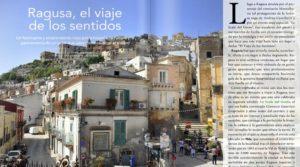 Ragusa sulla rivista spagnola Magellan: un viaggio delle emozioni nel sud della Sicilia