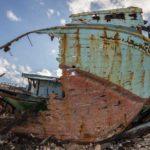 Portopalo, i disegni della sofferenza sui barconi della speranza